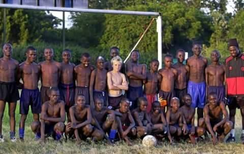 Антоан Гризман в юношеския отбор на Франция