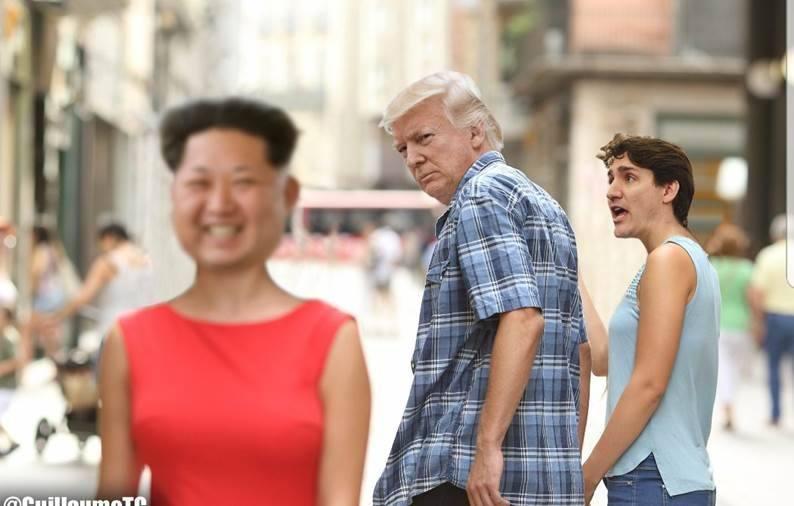 Ким, Тръмп, Трюдо