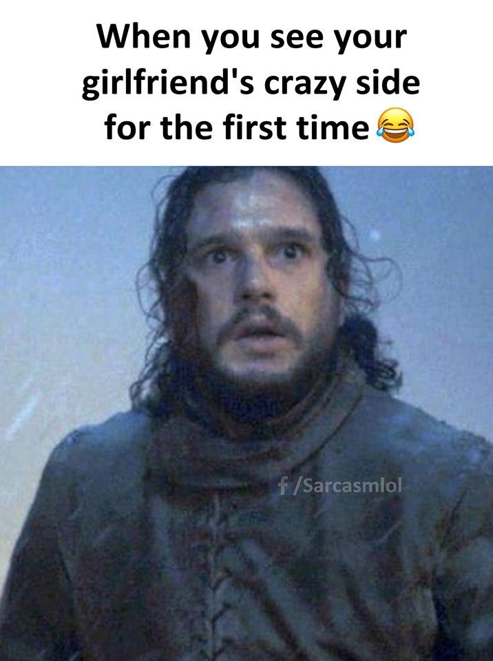Когато видиш лудата страна на жена си за пръв път ...