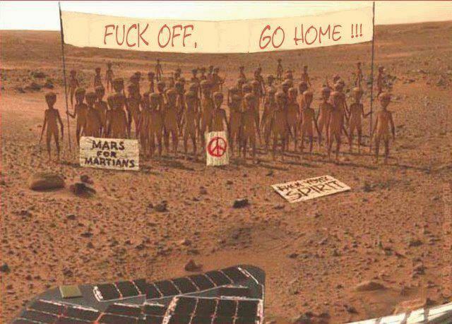 Марс за марсиянците
