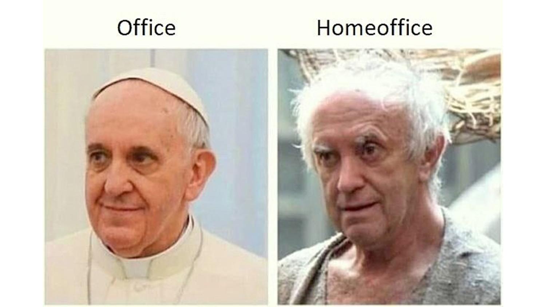 Офис VS Home office