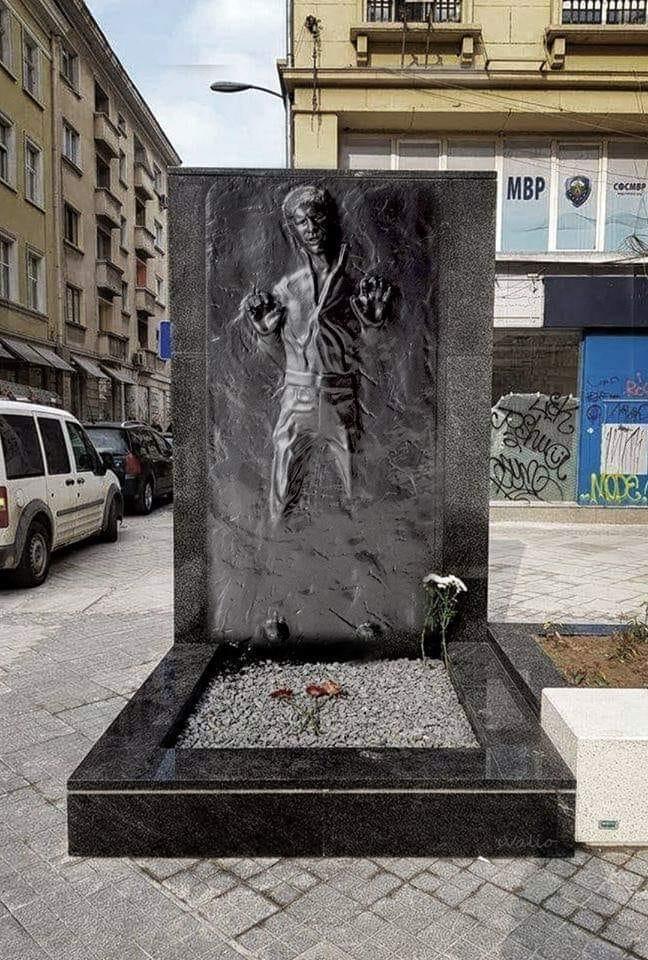 Паметника на Хан Соло в София