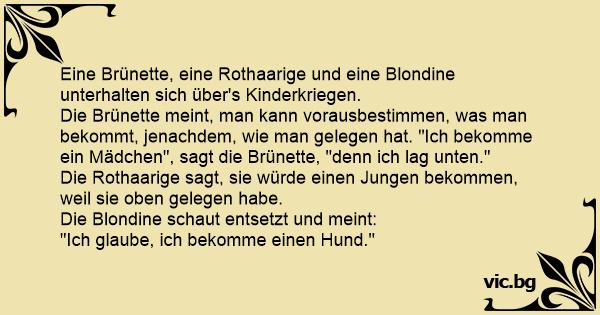 Die Rothaarige Und Die Blondine