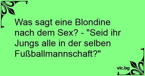 Witze über sex