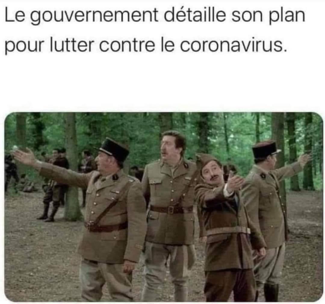 Le gouvernement détaille son plan pour lutter contre le coronavirus.