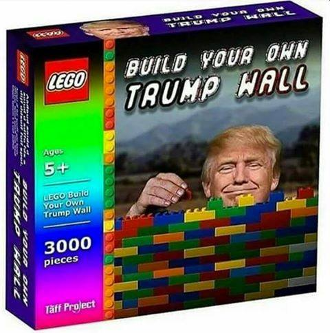 Build your own Trump wall