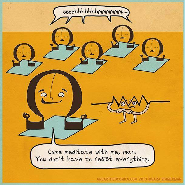 Come, meditate with m
