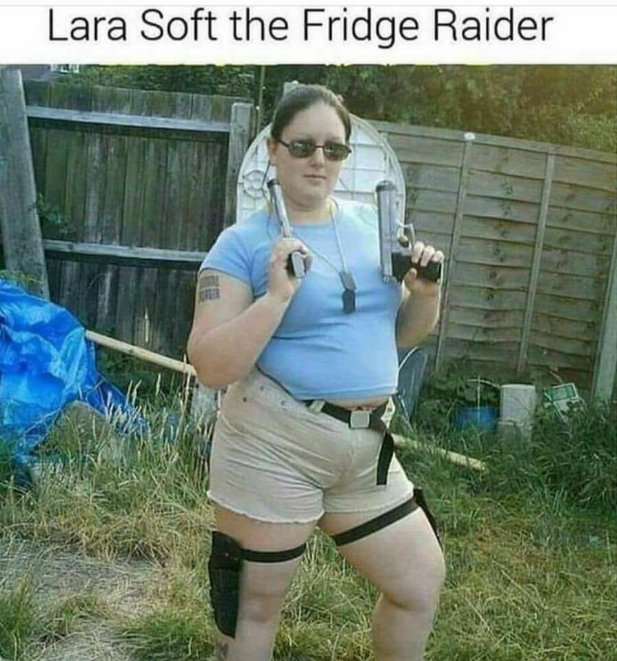 Lara Soft the fridge rider