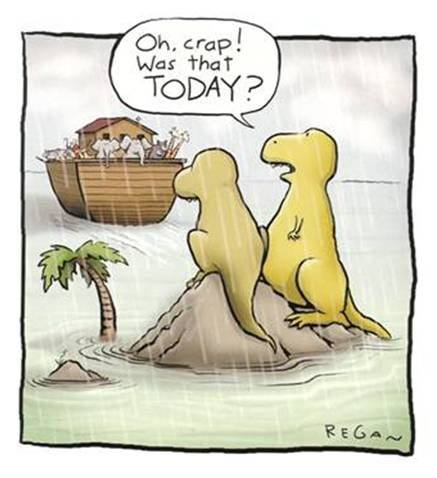 oh crap, was that today?
