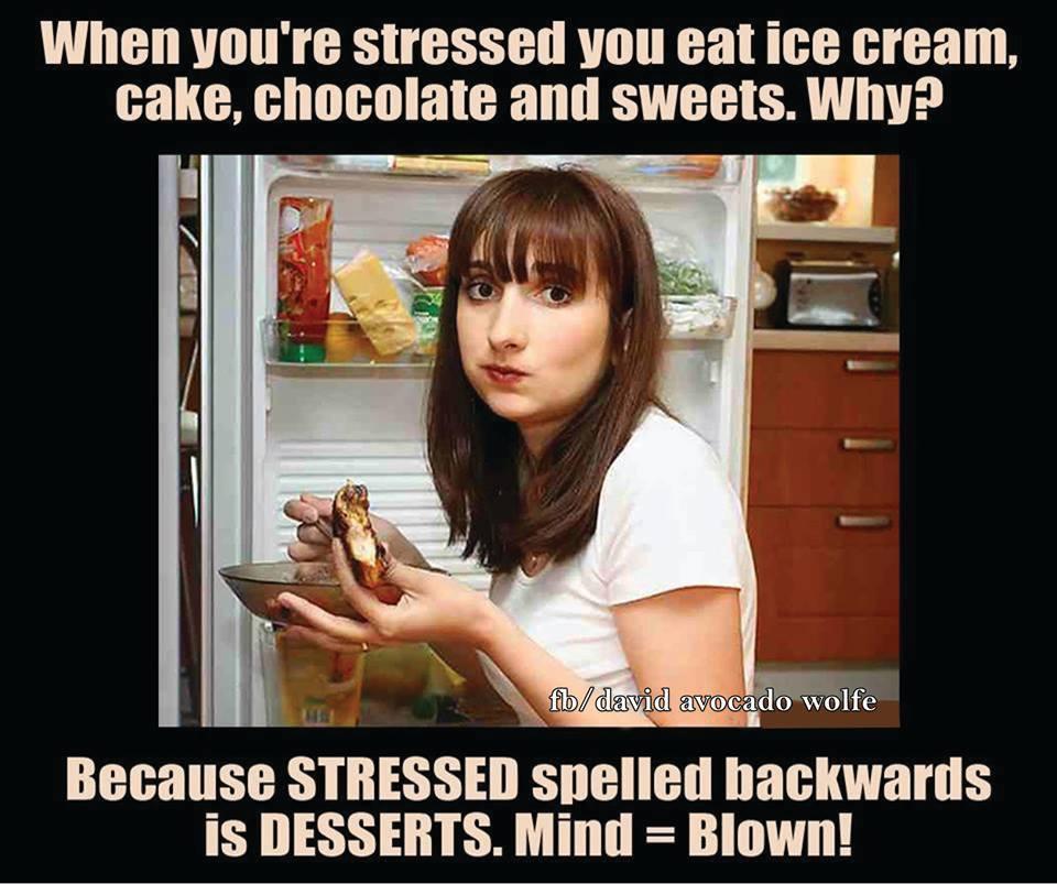 Stress-desserts