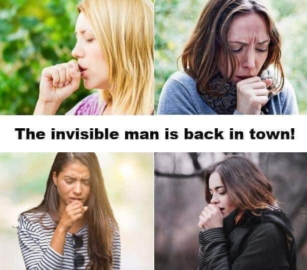 The invisible man is back to town