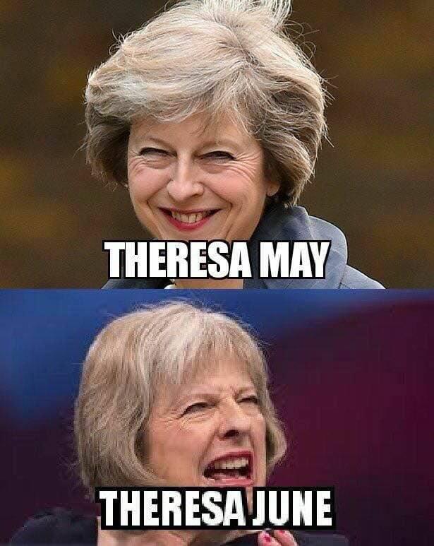 Theresa May - Theresa June