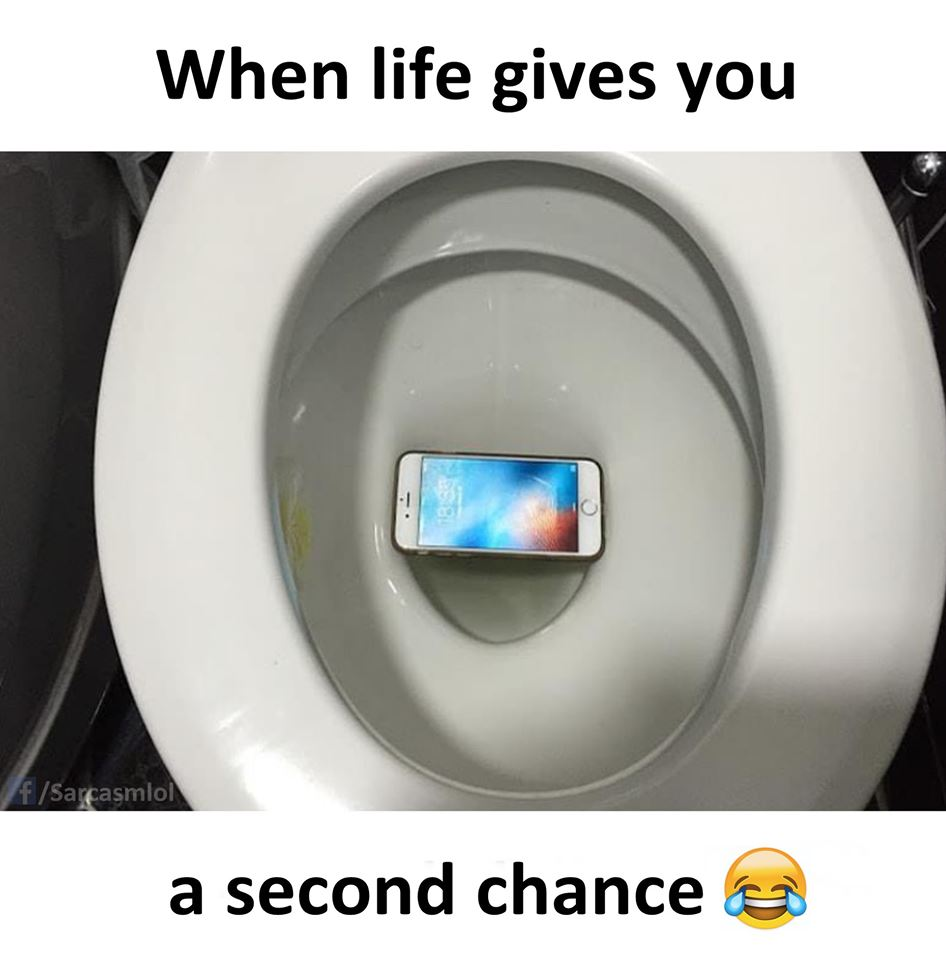 When life gives you a second chance