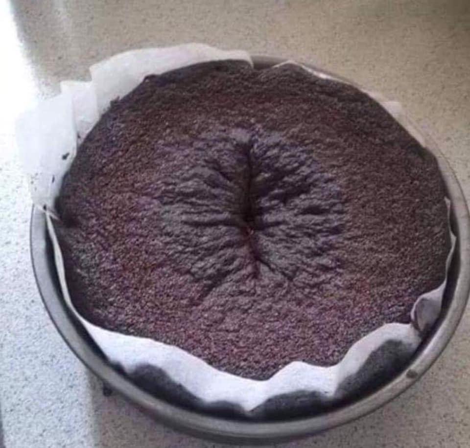 You haven't lived until you've tried me nans chocolate sponge cake